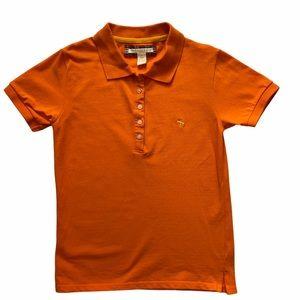Abercrombie & Fitch Girls Orange Polo Shirt, Large